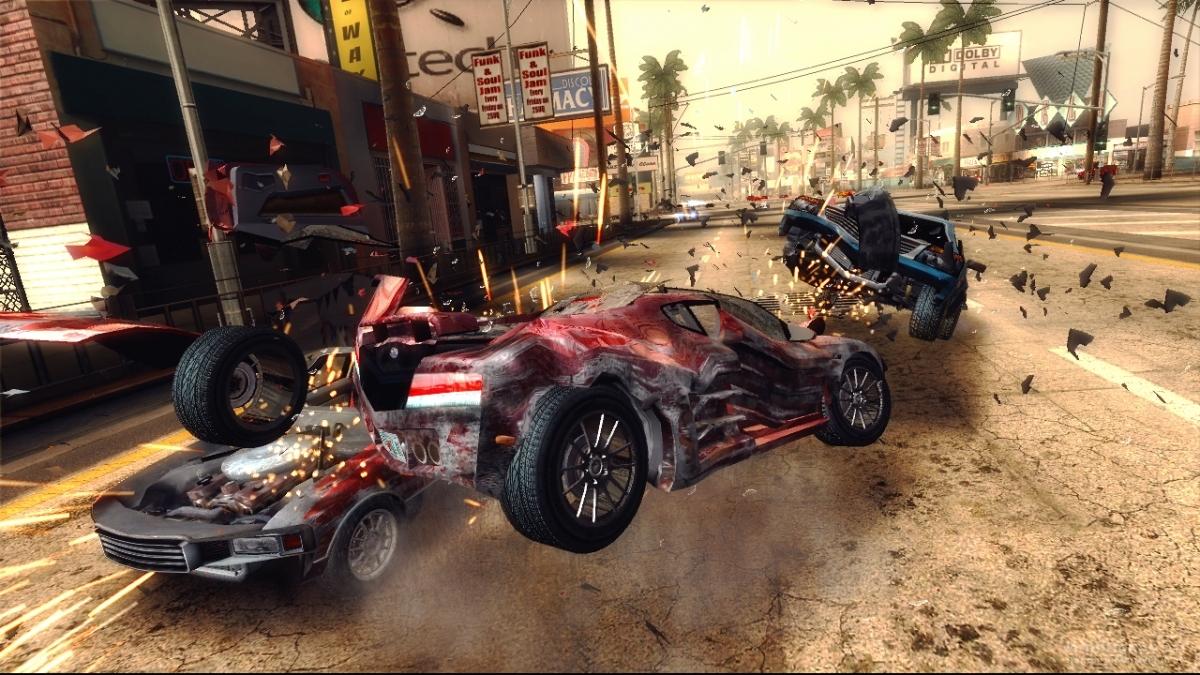 Скриншот к игре Burnout Revenge