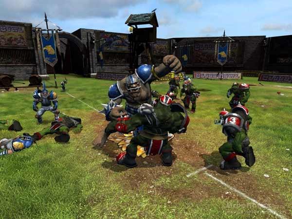 Скриншот к игре Blood Bowl