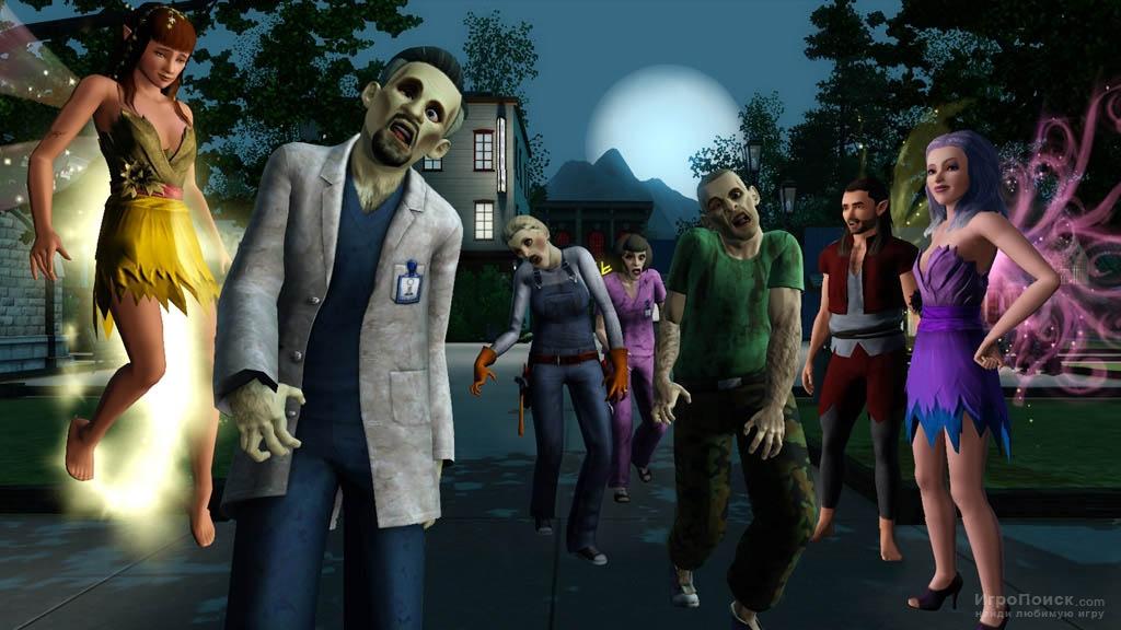 Скриншот к игре The Sims 3: Supernatural