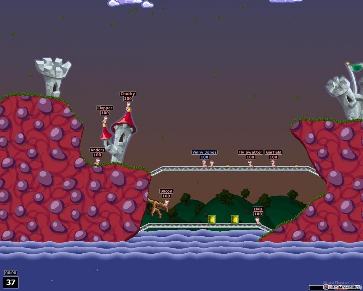 Скриншот к игре Worms: Armageddon