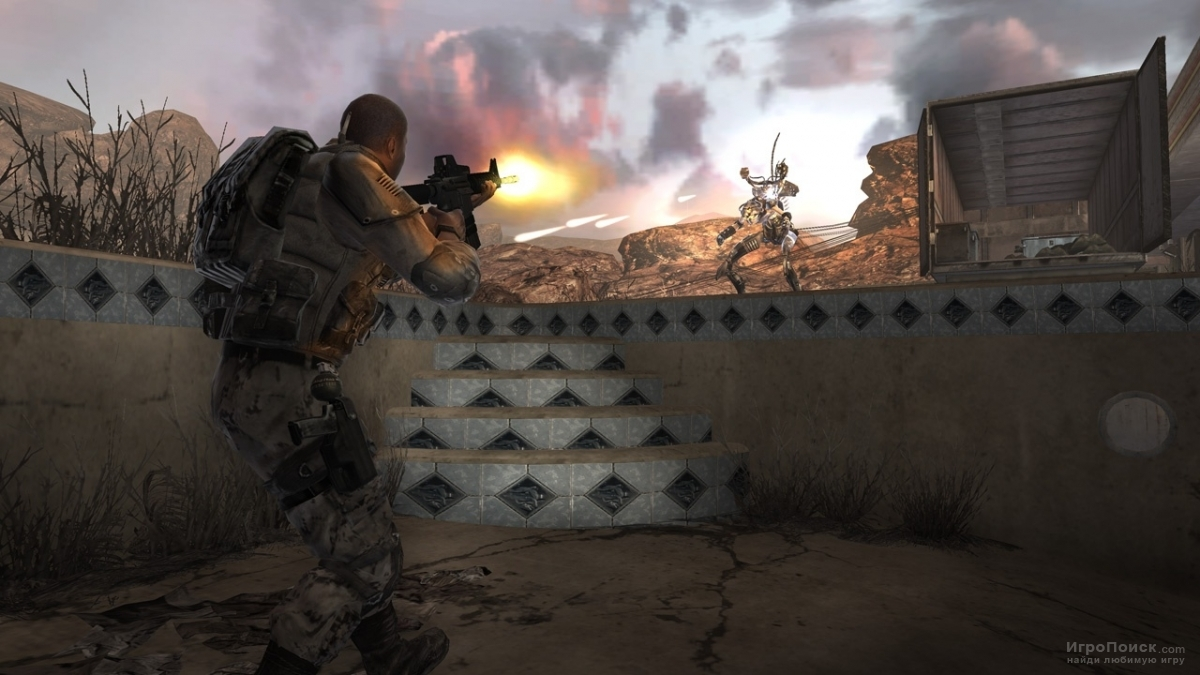 Скриншот к игре BlackSite: Area 51