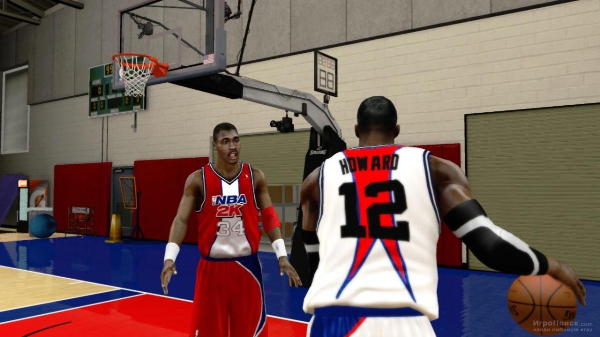 Скриншот к игре NBA 2K12