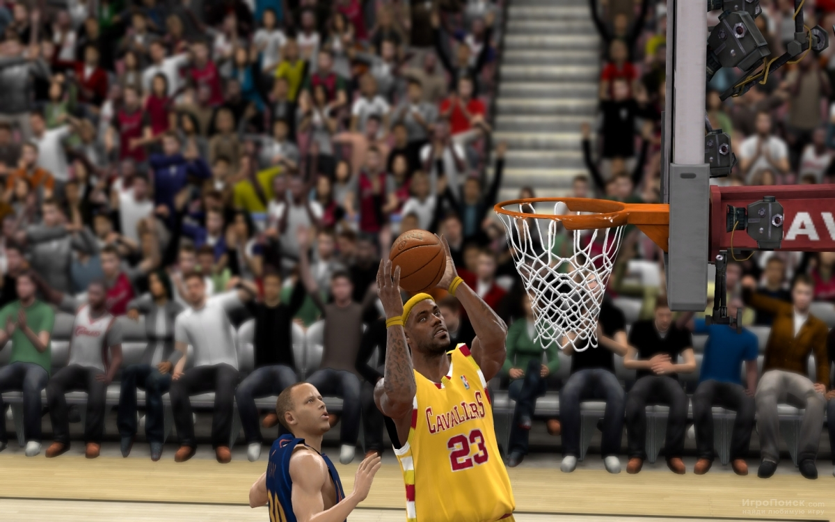 Скриншот к игре NBA 2k10