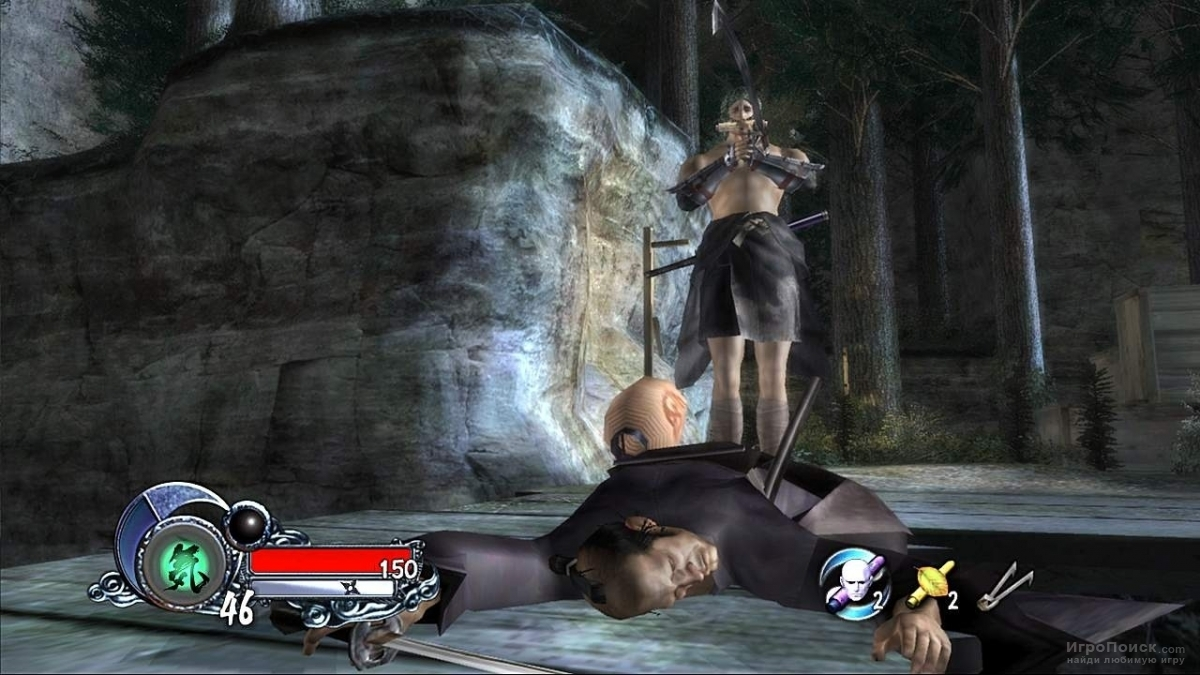 Скриншот к игре Tenchu Z