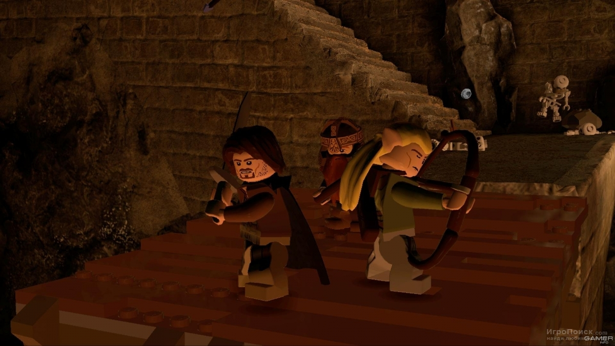 Скриншот к игре LEGO The Lord of the Rings