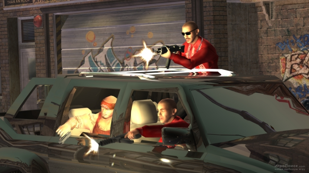 Скриншот к игре Saints Row