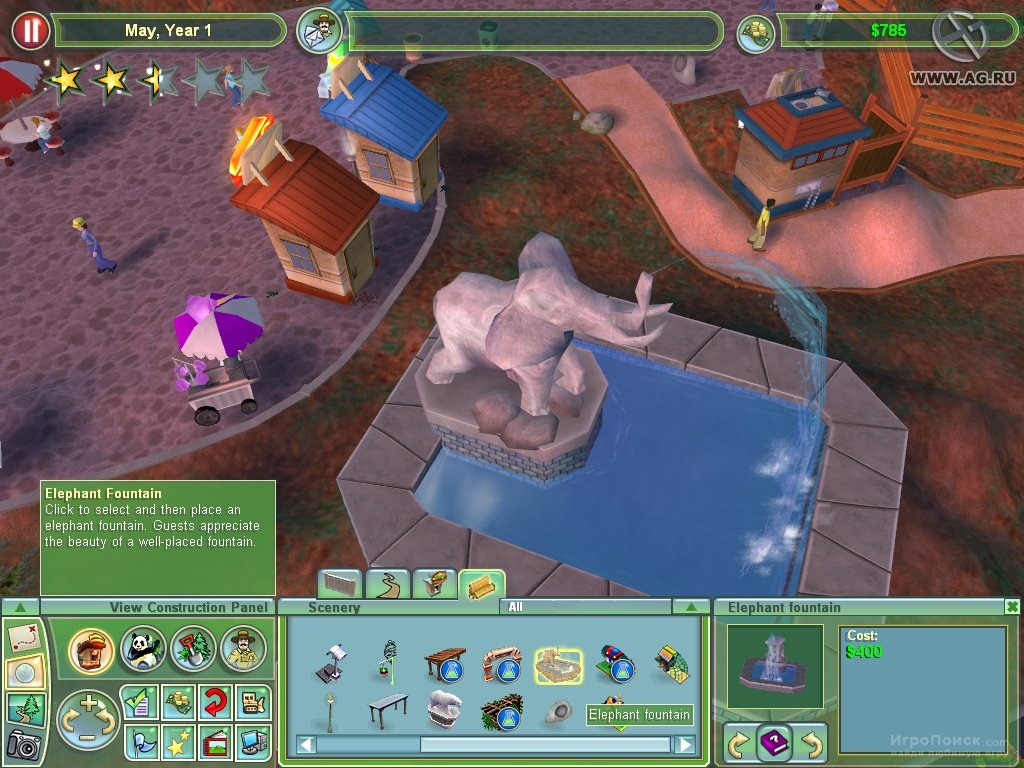 Скриншот к игре Zoo Tycoon 2