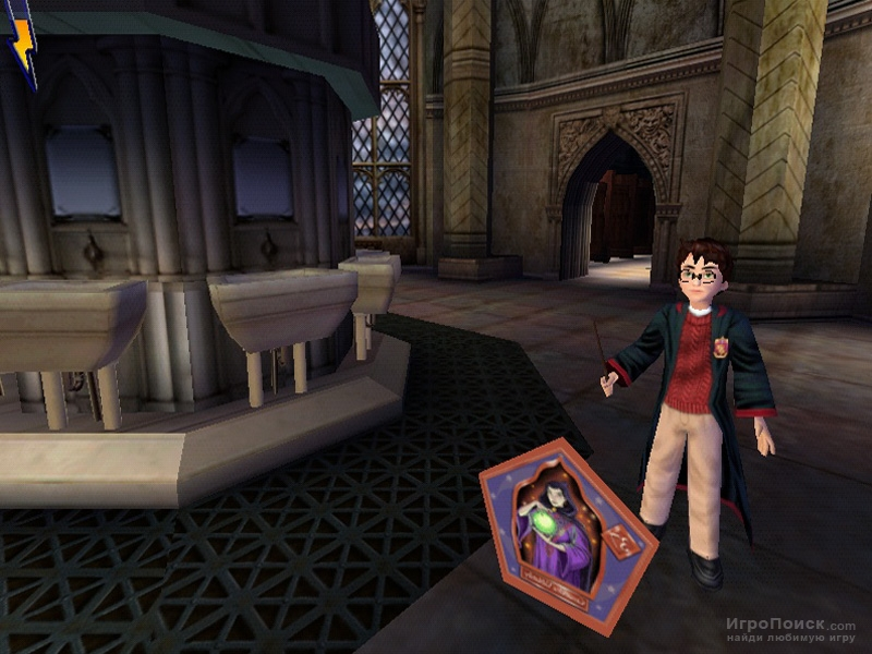 Скриншот к игре Harry Potter and the Chamber of Secrets