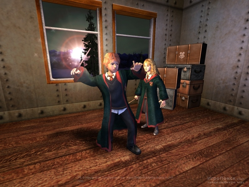 Скриншот к игре Harry Potter and the Prisoner of Azkaban