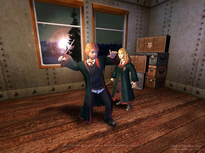 Скриншот к игре Harry Potter and the Prisoner of Azkaban