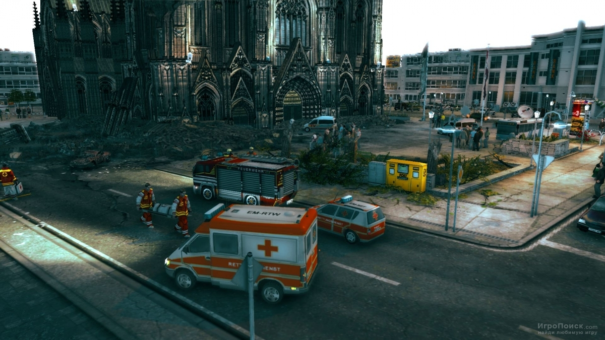 Скриншот к игре Emergency 2012