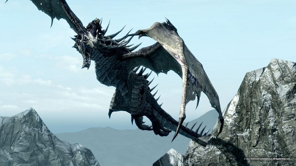 Скриншот к игре The Elder Scrolls V: Skyrim - Dragonborn