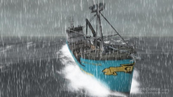 Скриншот к игре Deadliest Catch: Alaskan Storm