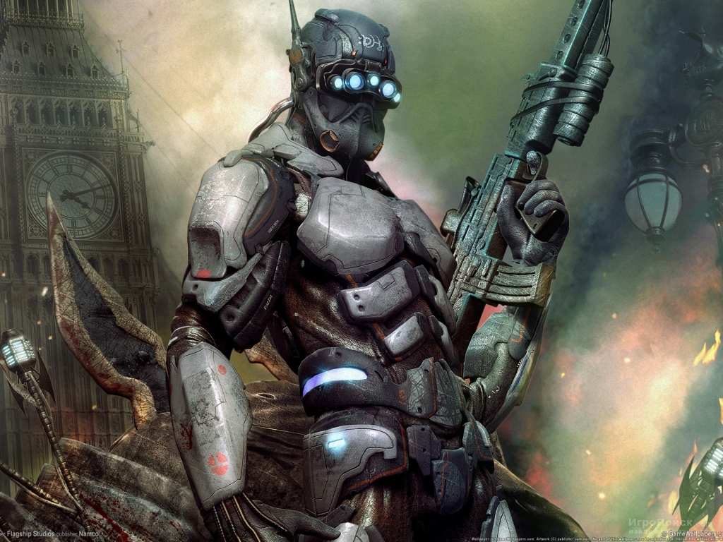 Скриншот к игре Hellgate: London
