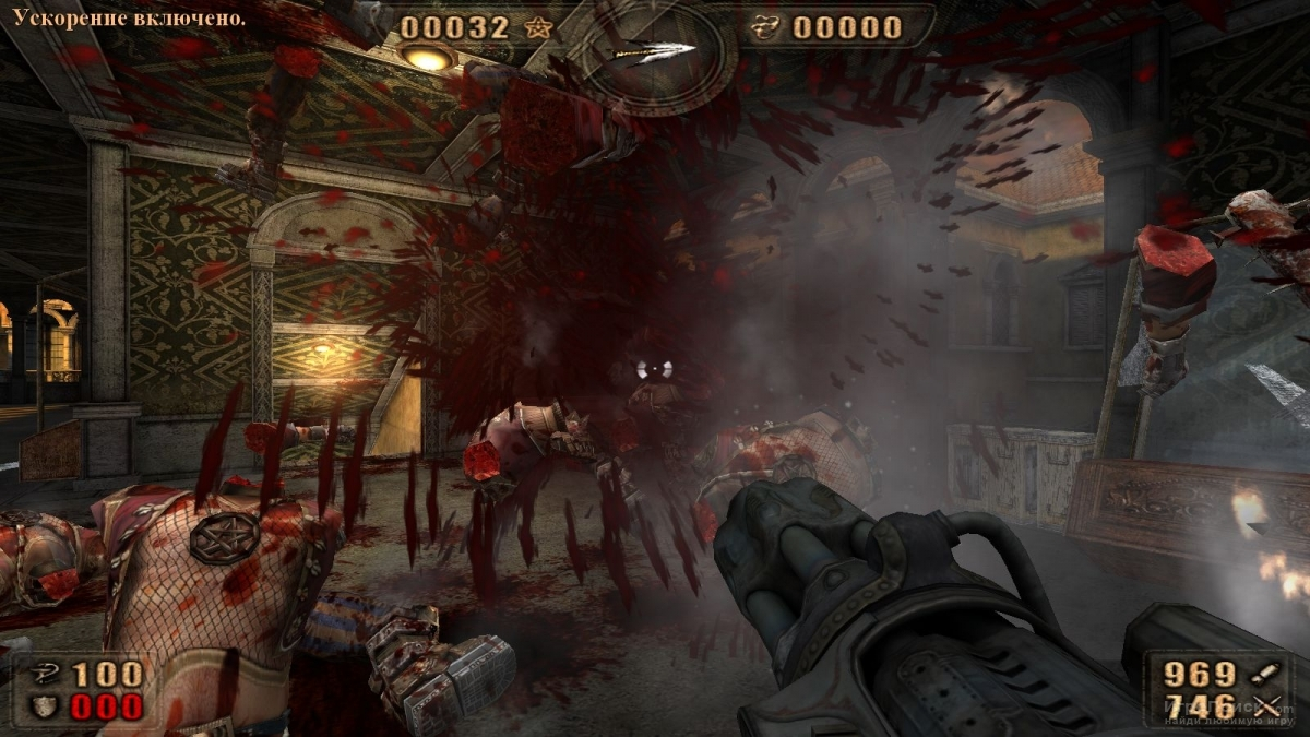 Скриншот к игре Painkiller: Battle Out of Hell