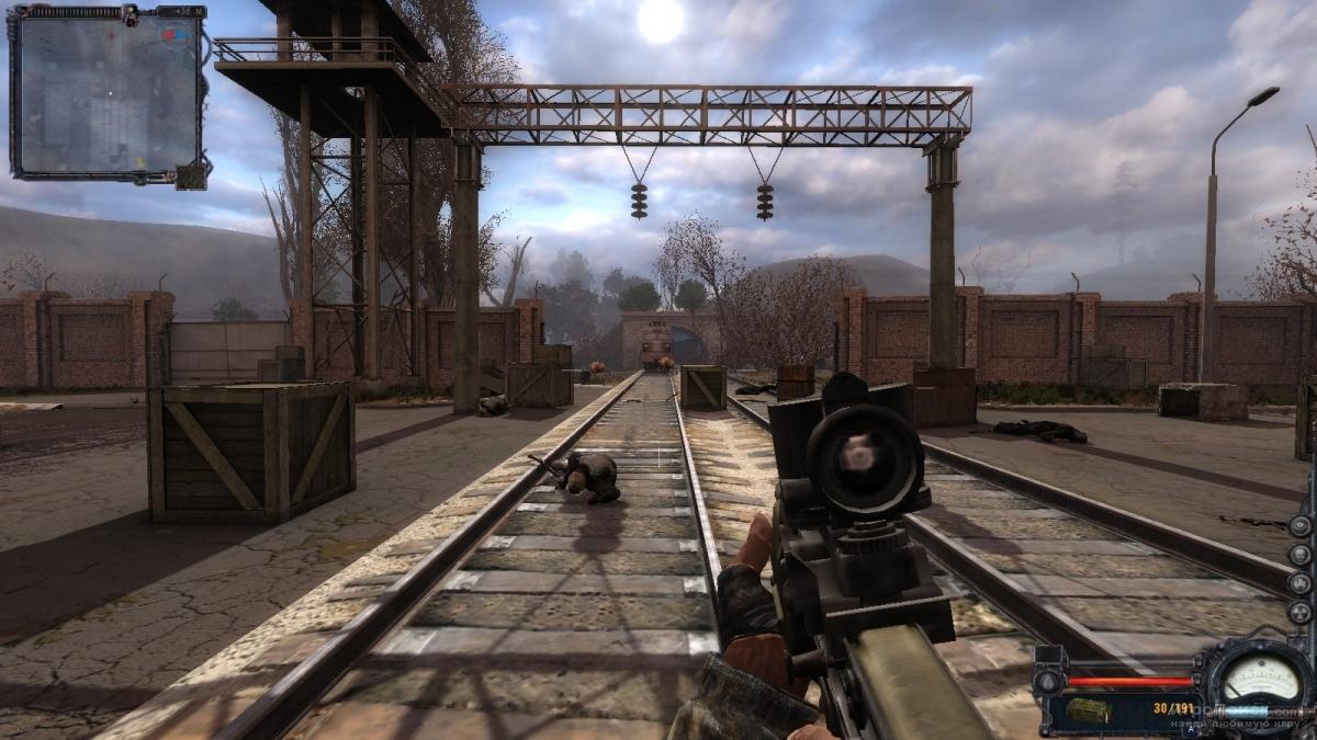 Скриншот к игре S.T.A.L.K.E.R.: Clear Sky
