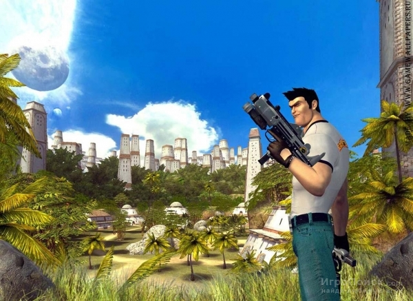 Скриншот к игре Serious Sam 2