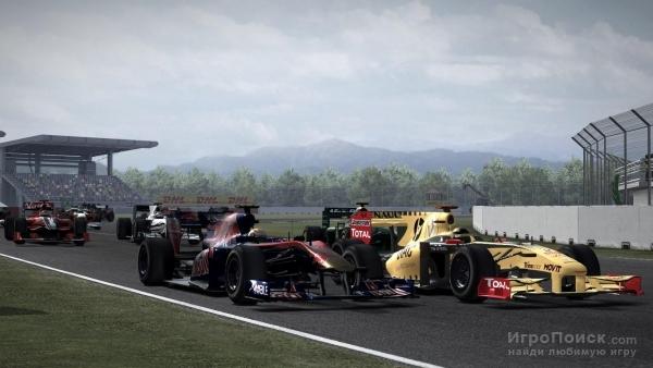 Скриншот к игре F1 2010