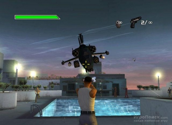 Скриншот к игре Bad Boys: Miami Takedown
