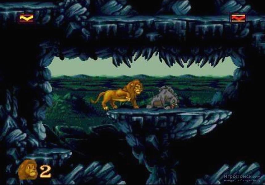 игры король лев сега видео