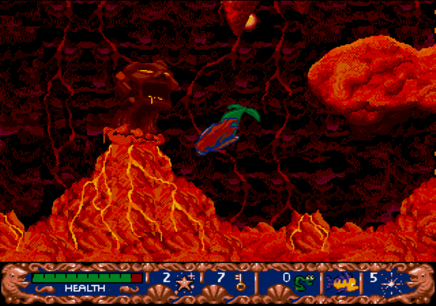 Скриншот к игре Disney's Ariel the Little Mermaid
