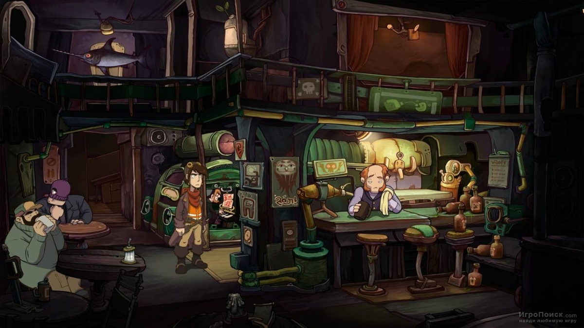 Скриншот к игре Chaos on Deponia