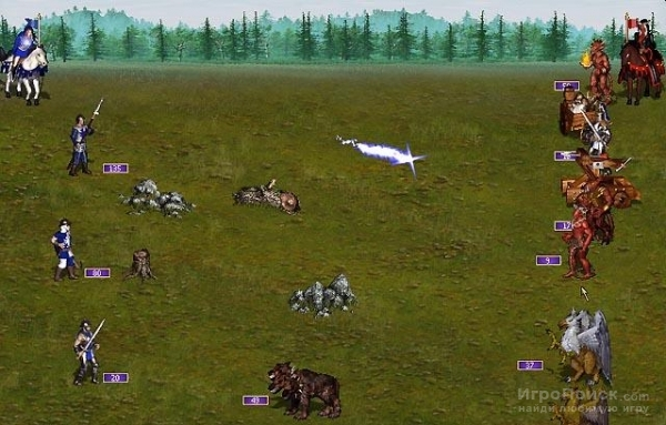 Скриншот к игре Heroes of Might and Magic III: Armageddon's Blade