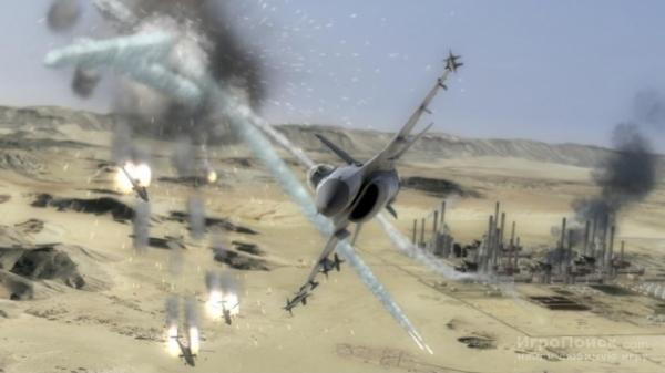 Скриншот к игре Tom Clancy's H.A.W.X.