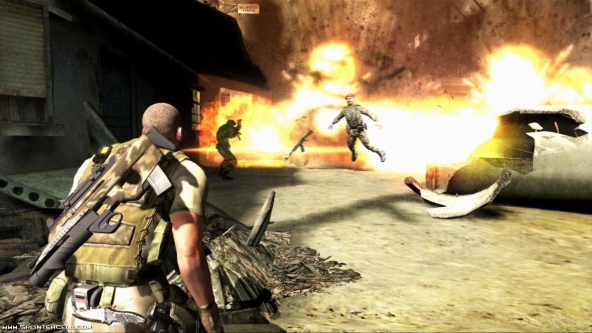 Скриншот к игре Tom Clancy's Splinter Cell: Double Agent