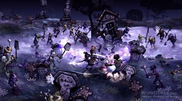 Скриншот к игре DeathSpank: Orphans of Justice