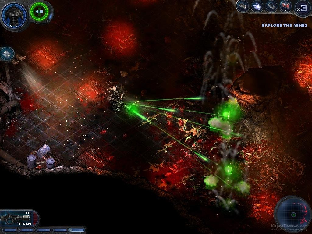Скриншот к игре Alien Shooter: Vengeance