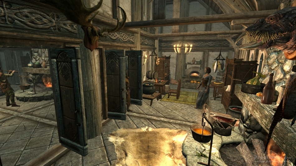 Скриншот к игре The Elder Scrolls V: Skyrim - Hearthfire