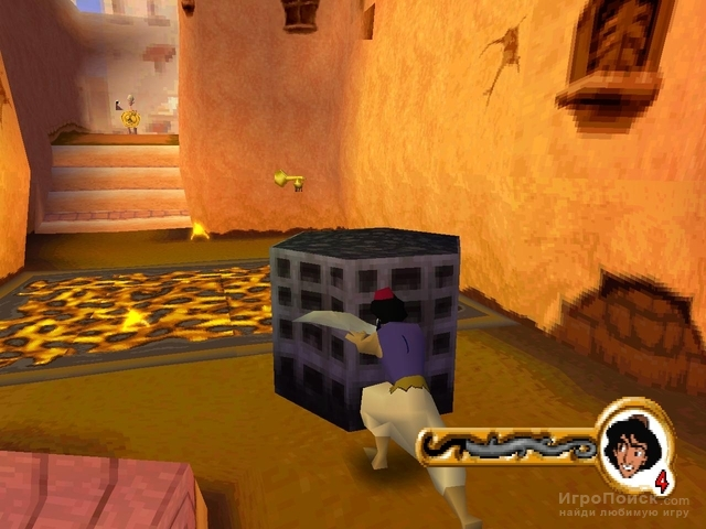 Скриншот к игре Disney's Aladdin in Nasira's Revenge Action Game