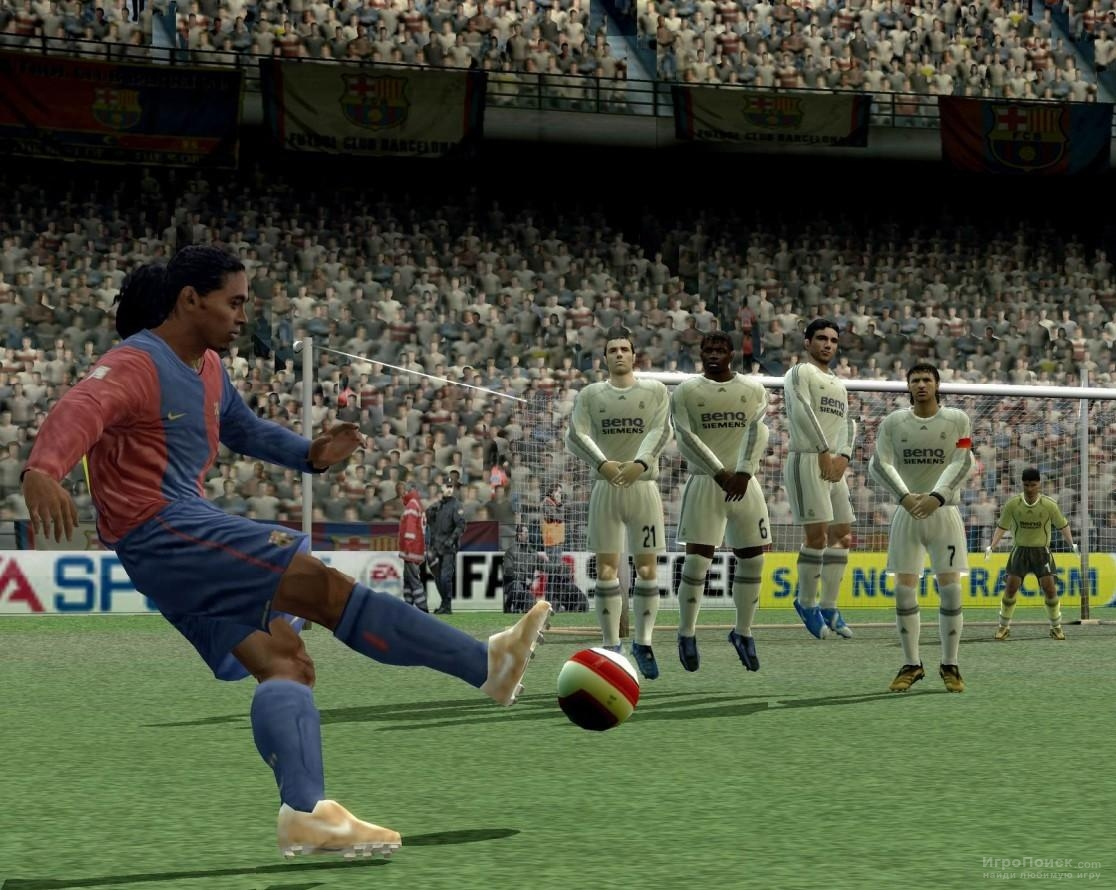 Скриншот к игре FIFA 08
