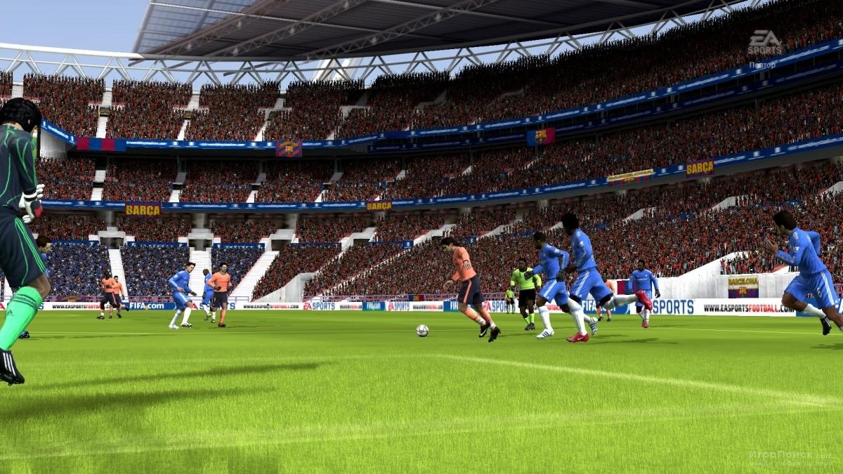 Скриншот к игре FIFA 10