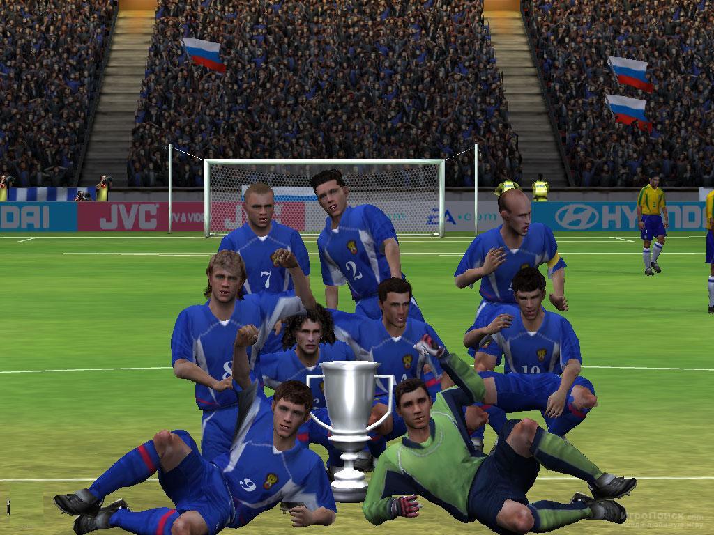 Скриншот к игре FIFA Football 2003