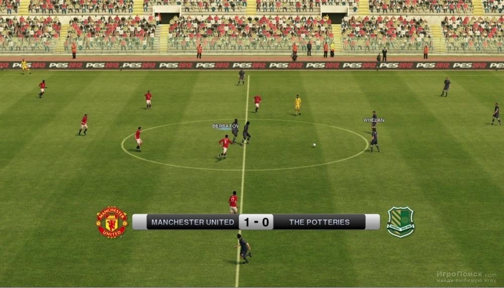 Скриншот к игре Pro Evolution Soccer 2012