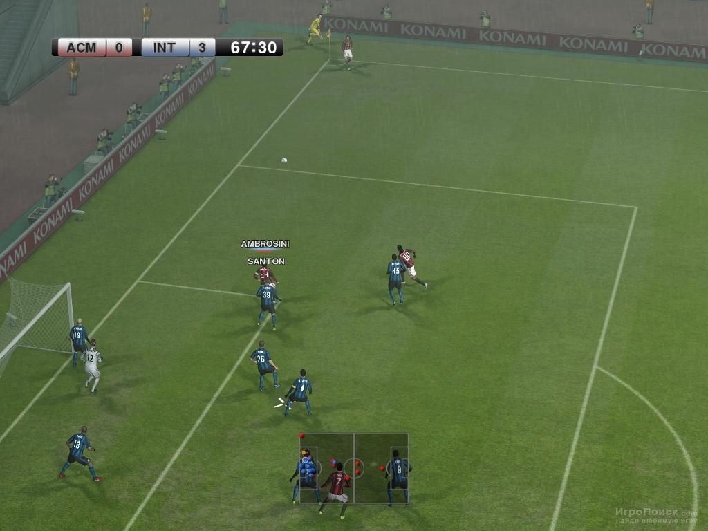 Скриншот к игре Pro Evolution Soccer 2011