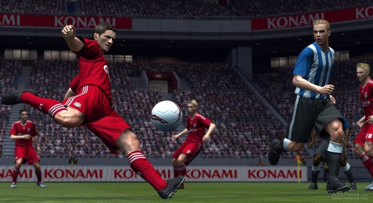 Скриншот к игре Pro Evolution Soccer 2009