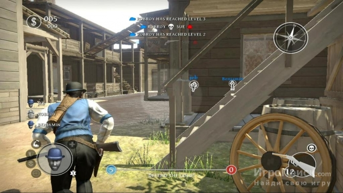 Скриншот к игре Lead and Gold: Gangs of the Wild West