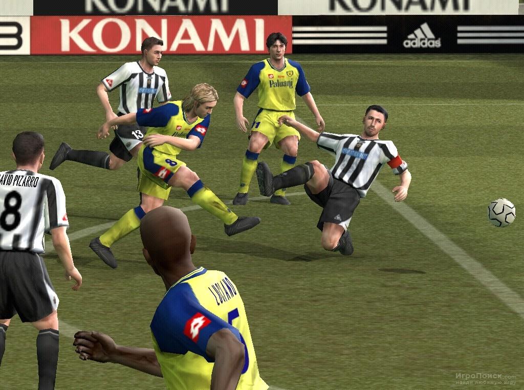 Скриншот к игре Pro Evolution Soccer 4