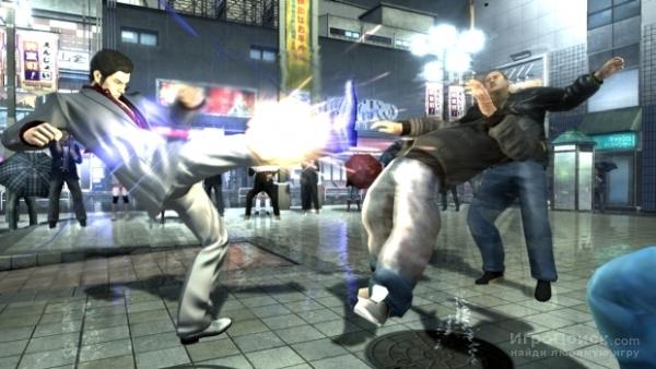Скриншот к игре Yakuza 4