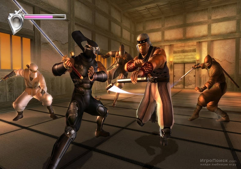 Скриншот к игре Ninja Gaiden: Black