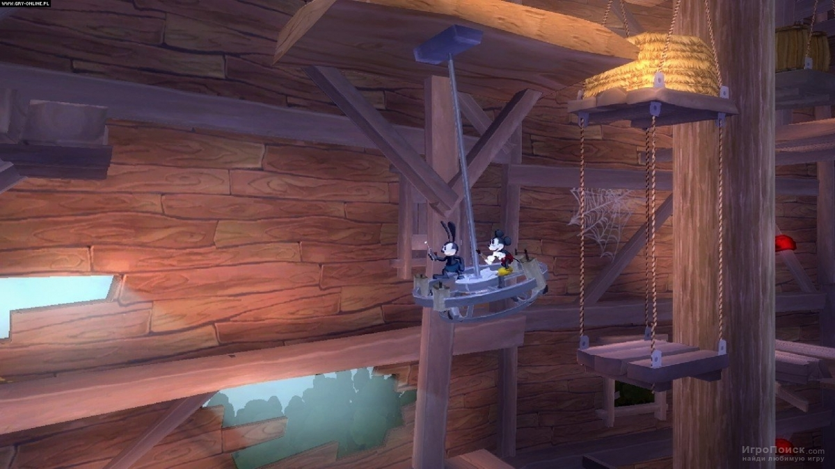 Скриншот к игре Epic Mickey 2: The Power of Two
