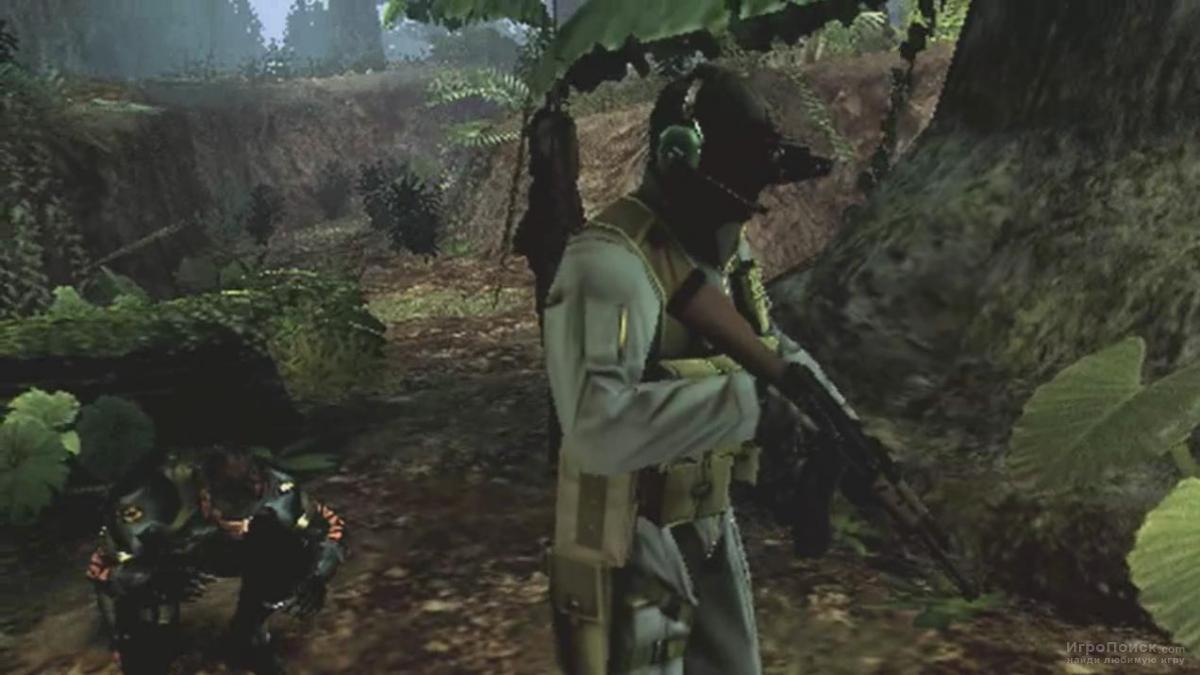 Скриншот к игре Metal Gear Solid: Peace Walker