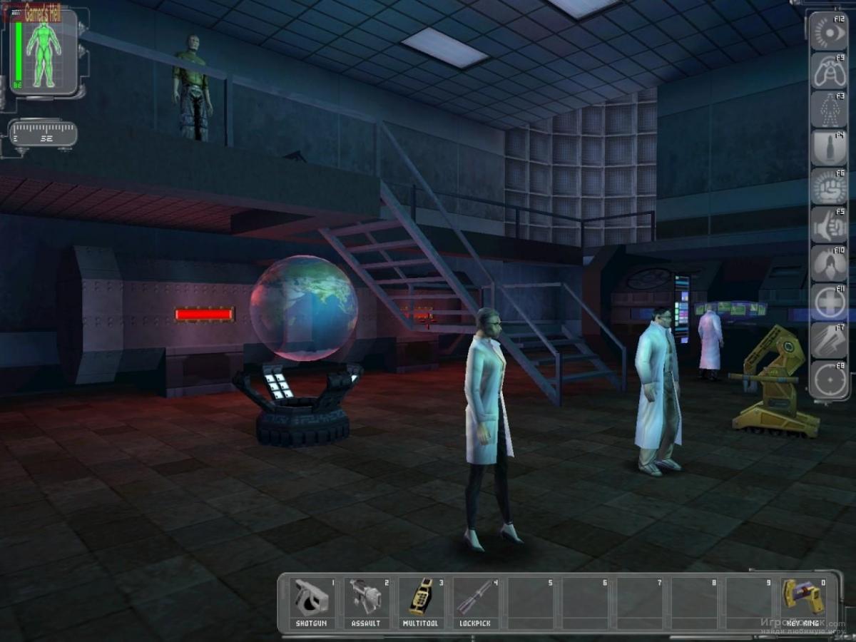 Скриншот к игре Deus Ex