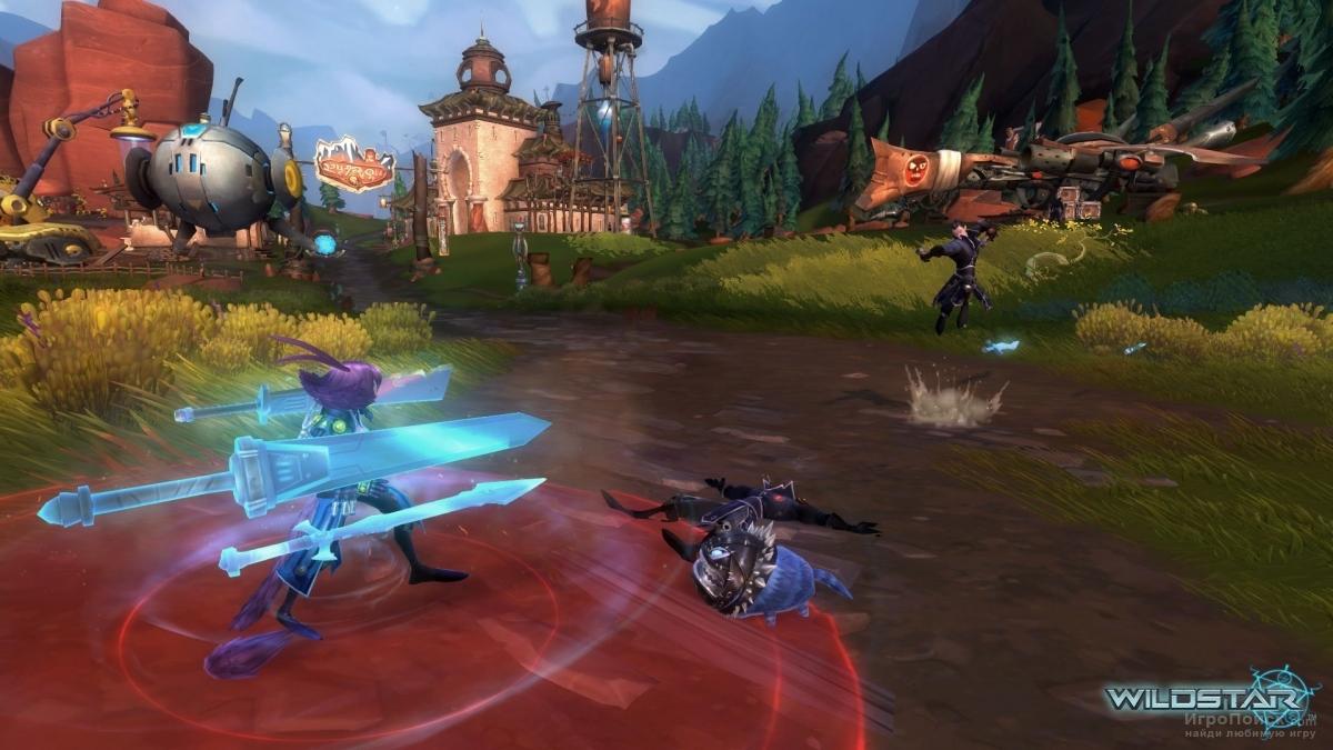 Скриншот к игре WildStar
