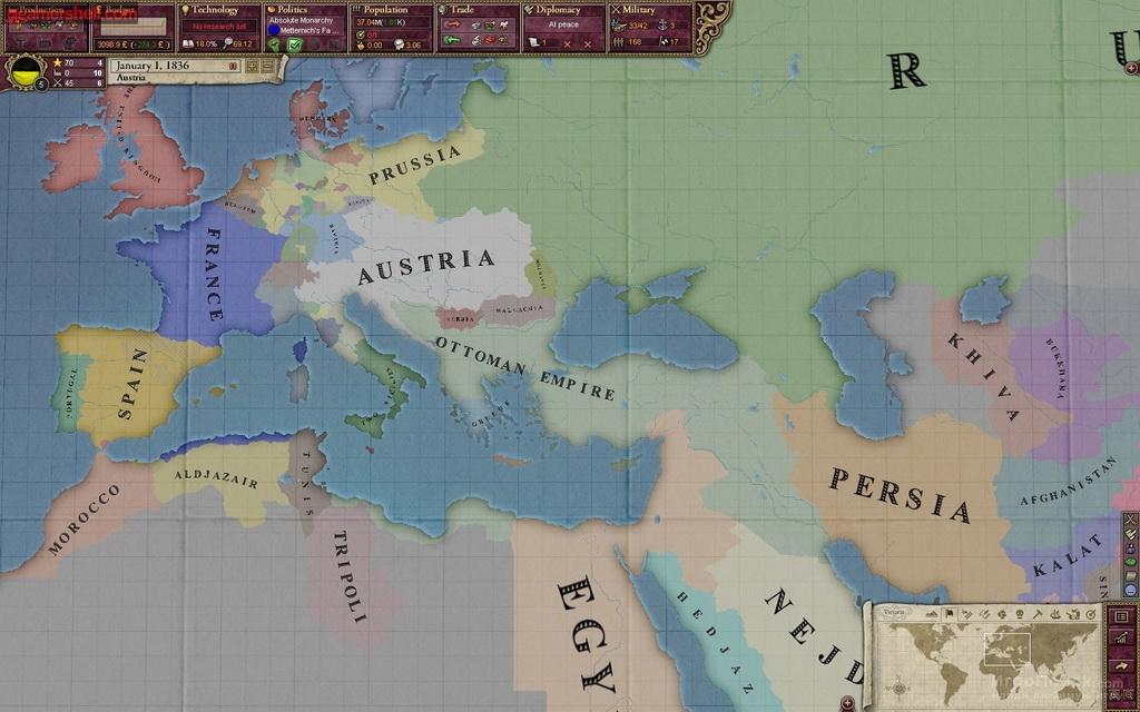 Victoria 2 как создать германию из австрии