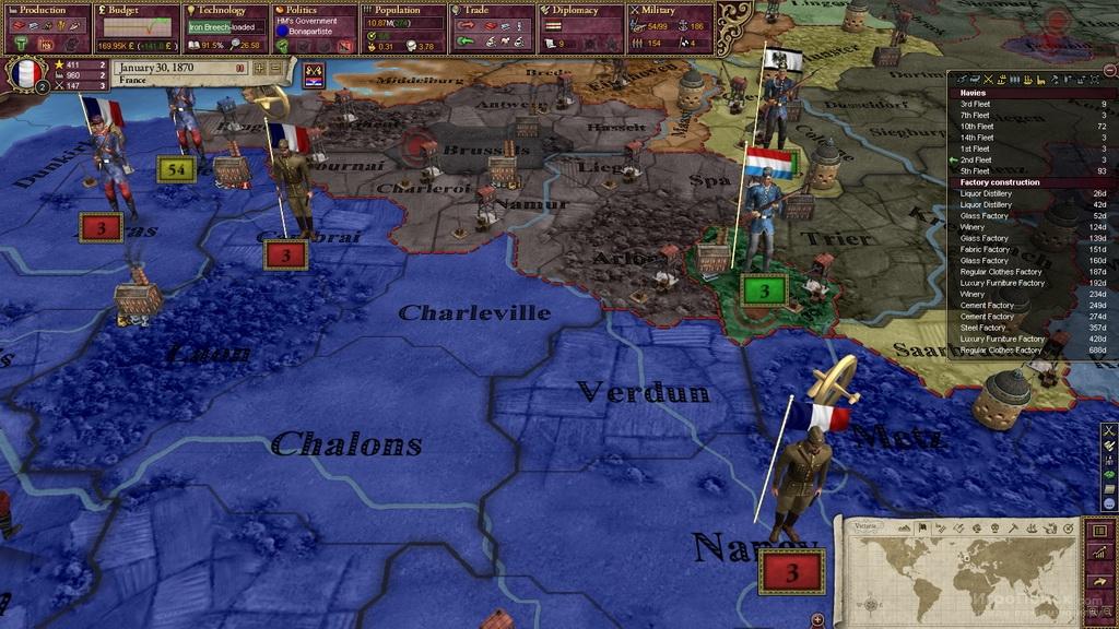 Скриншот к игре Victoria II