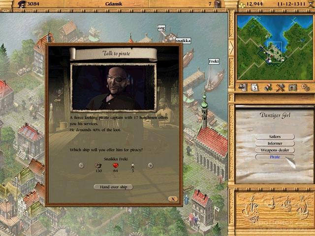 Скриншот к игре Patrician 2: Quest for Power